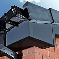 Fascia & Soffit Boards  - Dark Grey (Matte)