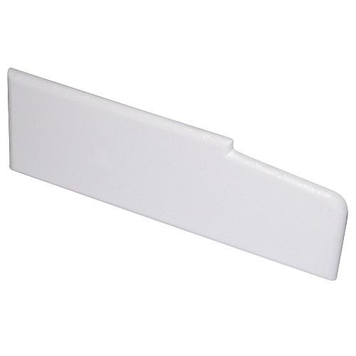 White 85mm Stub Cill End Cap (1xPair)