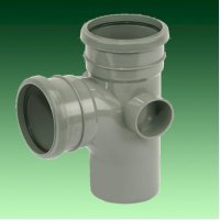 FloPlast 110mm Grey Soil Pipes