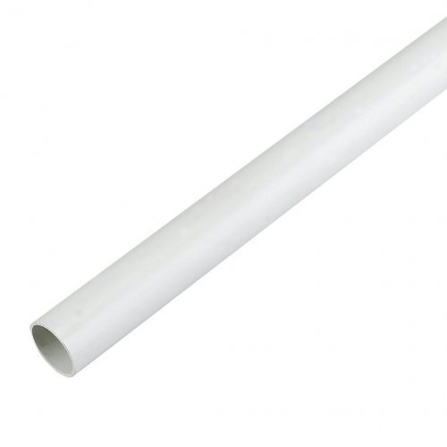 Floplast 3m x 21.5mm White Overflow Pipe