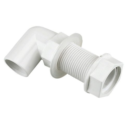Floplast 21.5mm Pipe Overflow Tank Connector 90°