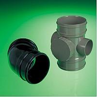 Floplast 110mm Solvent Soil System PVC-U