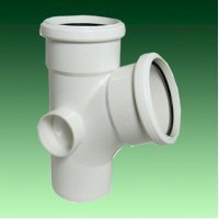 FloPlast 110mm White Soil Pipes