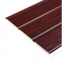 Hollow Shiplap Cladding - Mahogany