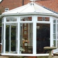 Victorian Conservatory Full Height Glazing