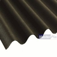 Coroline Corrugated Sheets Black