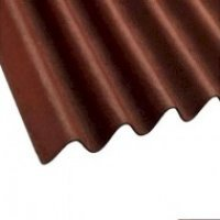 Coroline Corrugated Sheets Red