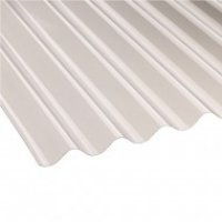 Vistalux Translucent 3 Inch Profile PVC Corrugated Sheet