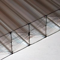 25mm Five Wall Bronze Polycarbonate Sheets