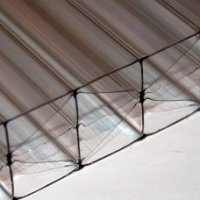 25mm Five Wall Clear Polycarbonate Sheets