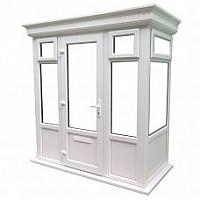 Flat GRP Roof Porch