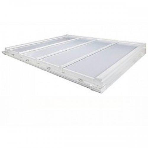 Conservatory Roof Kit 25mm Polycarbonate DIY Self Support 4m Projection - White