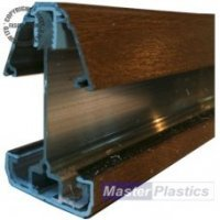 25mm Self Support Roof Bars - Light Oak