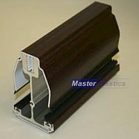 16mm Self Support Roof Bars - Mahogany