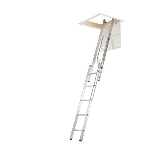 Abru 2 Section Loft Ladder with Handrail