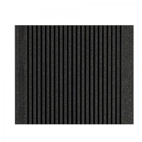 Duofuse composite hollow decking graphite black for 4m composite decking boards