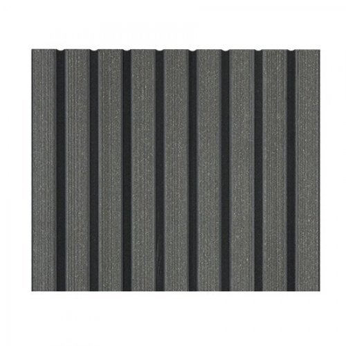 Duofuse composite hollow decking stone grey for 4m composite decking boards
