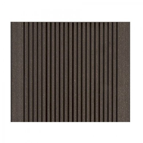Duofuse composite hollow decking tropical brown for 4m composite decking boards