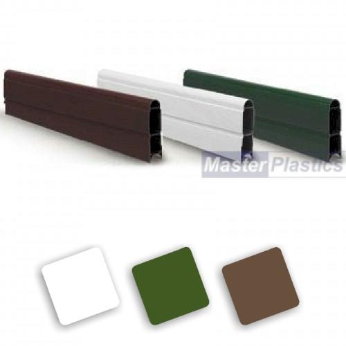 GRAVEL BOARD CLIPS 25mm x 150mm x 30mm FENCING PANELS BRACKET FENCE GARDEN POST