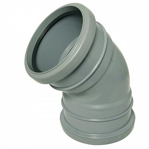 Floplast 110mm Solvent - 135º (45º) Bend