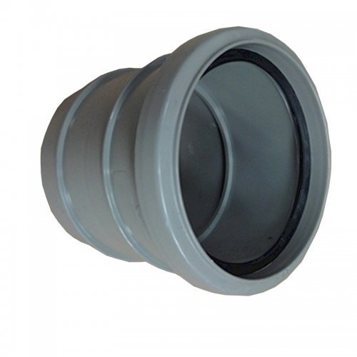 Floplast 110mm Solvent - Single Socket Pipe Coupling