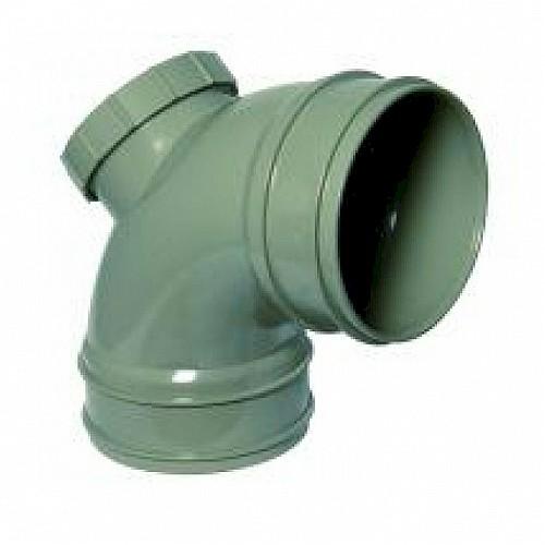 Floplast 110mm Solvent - 92.5º (87.5º) Access Bend