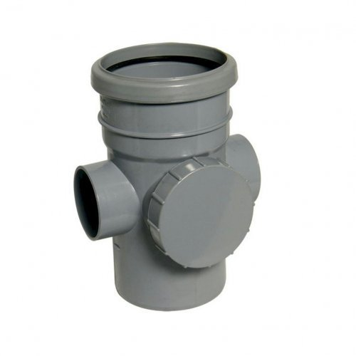 Floplast 110mm Solvent - Access Pipe