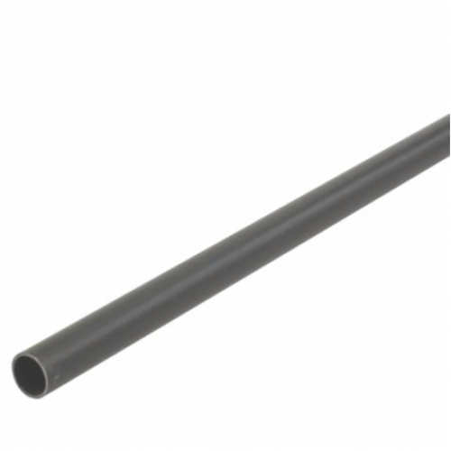 Floplast 40mm x 3m Plain End Waste Pipe Black