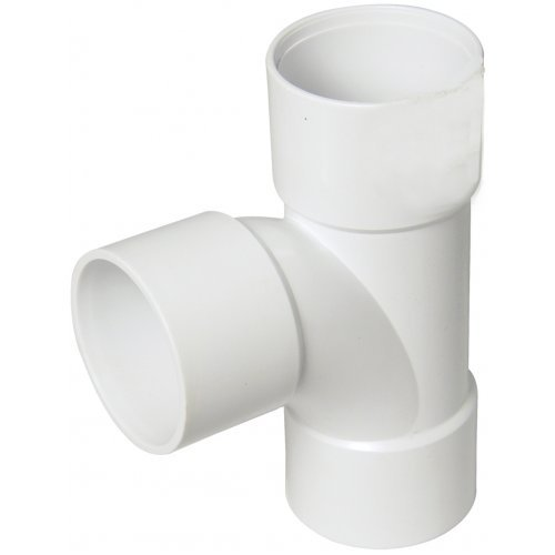 Floplast 50mm Waste Pipe Tee