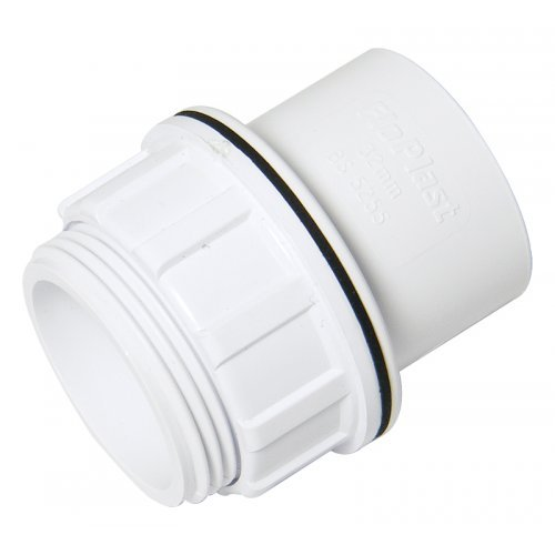 Floplast 32mm Waste Pipe Tank Connector