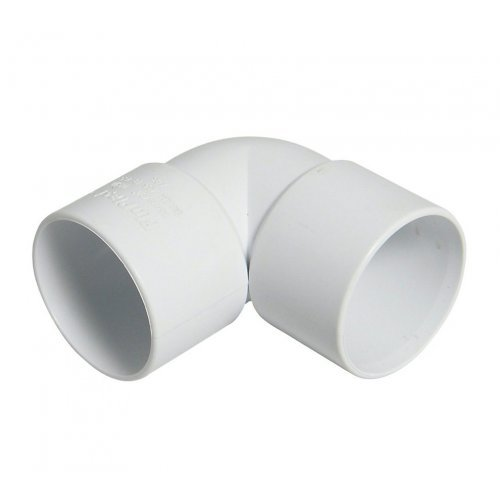 Floplast 50mm 90° Waste Pipe Bend