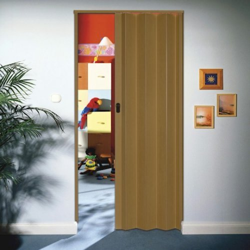 The Eurostar Concertina Internal Folding Door - Beech