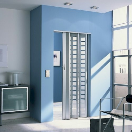 The New Generation Internal Folding Door - Aluminium - Glass