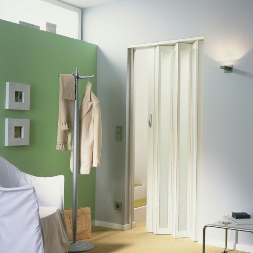 The New Generation Internal Folding Door - White