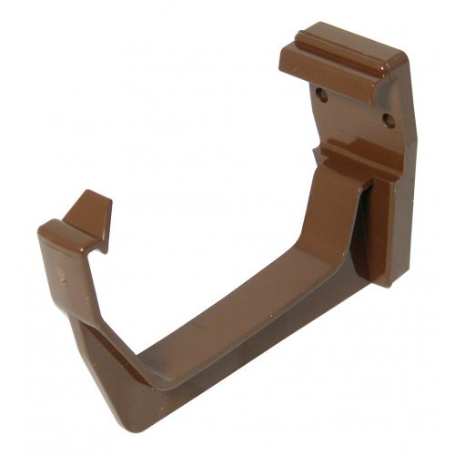 Floplast 114mm Brown Square Gutter Fascias Bracket (RKS1V)
