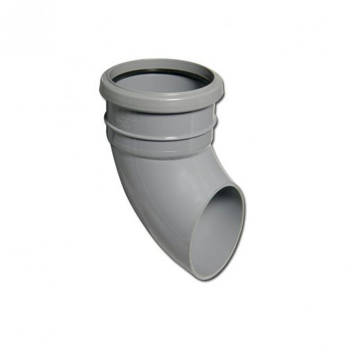 Floplast (SP161AG) Soil Pipe Shoe Grey