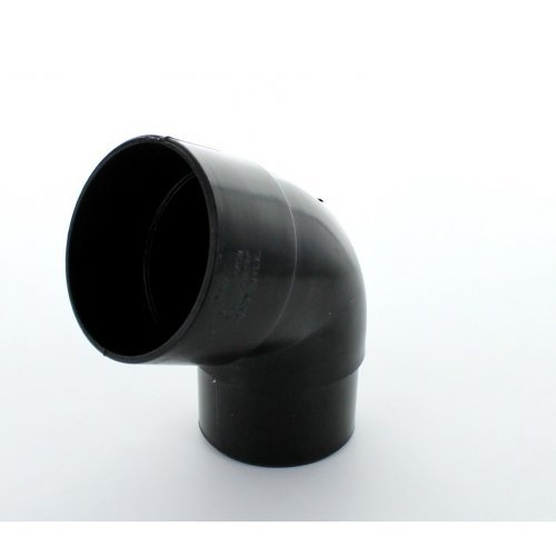 Hunter Black 50mm Downpipe 112.5º Offset Bend