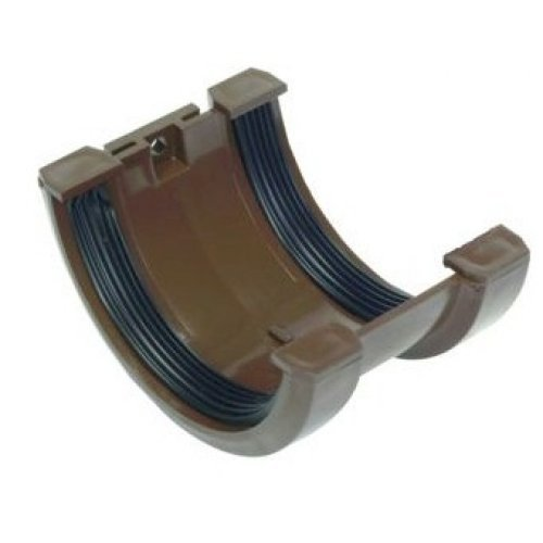 Hunter Brown 76mm Gutter Joint Bracket