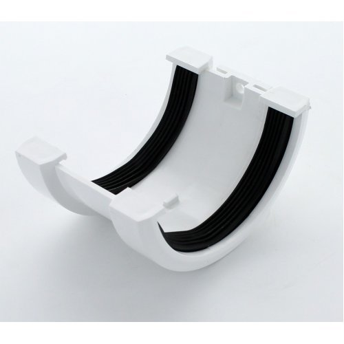 Hunter White 76mm Gutter Joint Bracket
