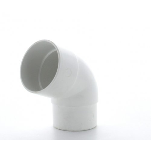 Hunter White 50mm Downpipe112.5º Offset bend
