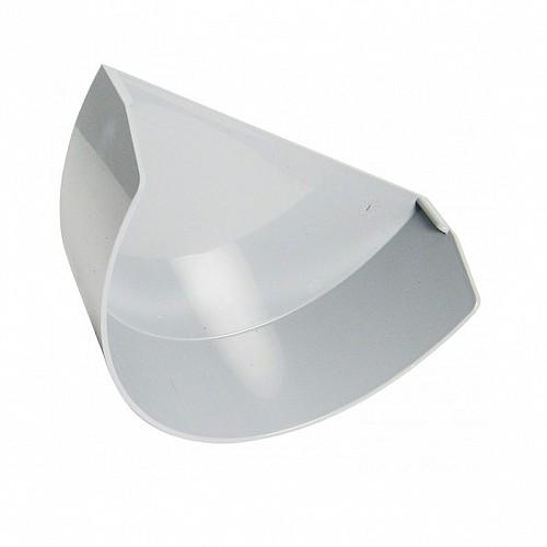 Floplast Xtraflo 170mm Gutter Internal Stopend - White