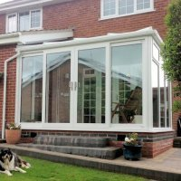 DIY Lean-to Conservatory Full Height