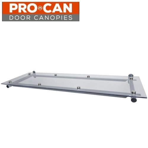 Pro Can Clear Top Flat Door Canopy   1500 X 750 ...