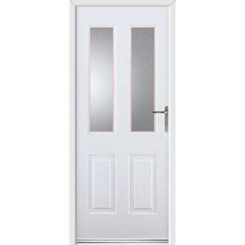 Rockdoor Select Range - Jocobean Composite Door - White