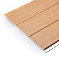 Hollow Shiplap Cladding - Irish Oak