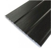 Hollow Shiplap Cladding - Plain Black