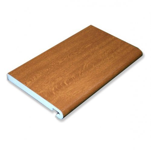 KB16 405mm Bullnosed Light Oak Double Edged Fascia Board