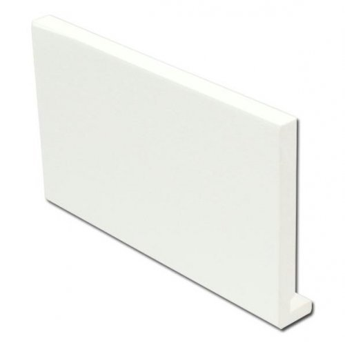 16mm 400mm x 5m Full Replacement Fascia Board White Ash Effect
