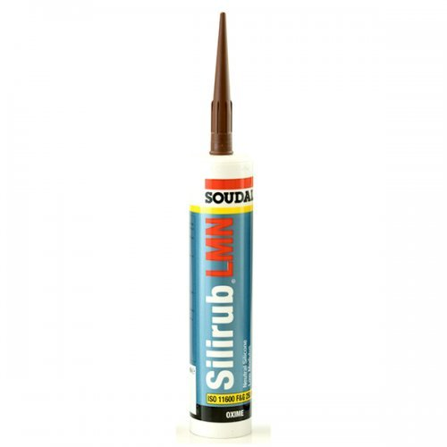 Soudal Silicone Sealant Low Modulus Neutral Cure - Brown