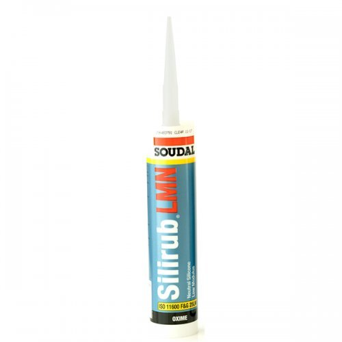Soudal Silicone Sealant Low Modulus Neutral Cure - Clear
